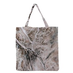 Earth Landscape Aerial View Nature Grocery Tote Bag