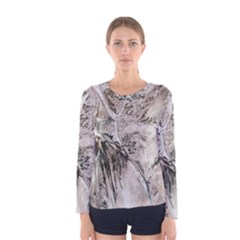 Earth Landscape Aerial View Nature Women s Long Sleeve Tee