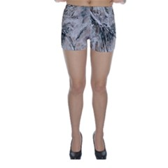 Earth Landscape Aerial View Nature Skinny Shorts