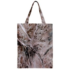 Earth Landscape Aerial View Nature Zipper Classic Tote Bag
