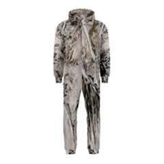 Earth Landscape Aerial View Nature Hooded Jumpsuit (kids)