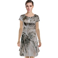 Earth Landscape Aerial View Nature Cap Sleeve Nightdress