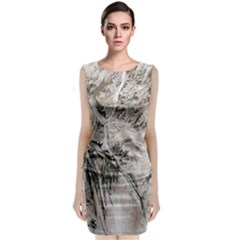 Earth Landscape Aerial View Nature Classic Sleeveless Midi Dress