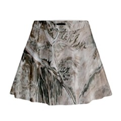 Earth Landscape Aerial View Nature Mini Flare Skirt