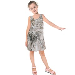 Earth Landscape Aerial View Nature Kids  Sleeveless Dress