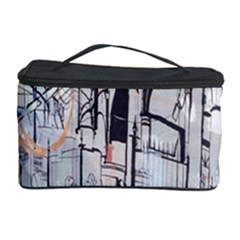 Cityscapes England London Europe United Kingdom Artwork Drawings Traditional Art Cosmetic Storage Case