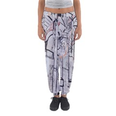 Cityscapes England London Europe United Kingdom Artwork Drawings Traditional Art Women s Jogger Sweatpants