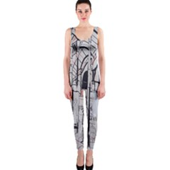 Cityscapes England London Europe United Kingdom Artwork Drawings Traditional Art Onepiece Catsuit