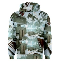 Digital Art Paint In Water Men s Pullover Hoodie