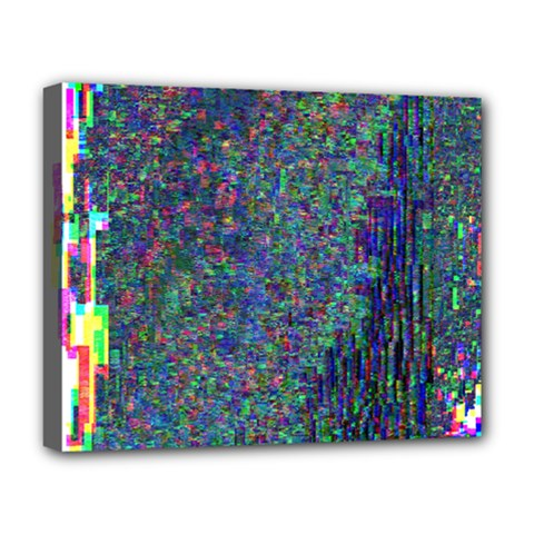 Glitch Art Deluxe Canvas 20  x 16