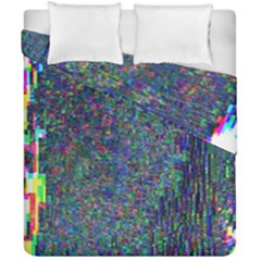 Glitch Art Duvet Cover Double Side (california King Size)