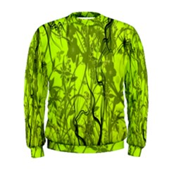 Concept Art Spider Digital Art Green Men s Sweatshirt