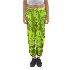 Concept Art Spider Digital Art Green Women s Jogger Sweatpants