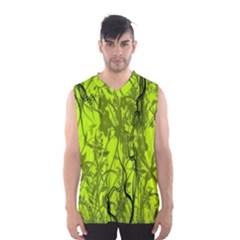 Concept Art Spider Digital Art Green Men s Basketball Tank Top