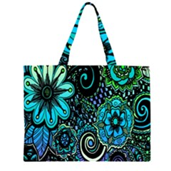 Sun Set Floral Large Tote Bag