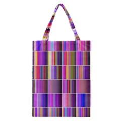 Plasma Gradient Gradation Classic Tote Bag