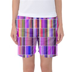 Plasma Gradient Gradation Women s Basketball Shorts