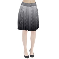 Semi Authentic Screen Tone Gradient Pack Pleated Skirt