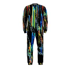 Abstract 3d Blender Colorful Onepiece Jumpsuit (kids)