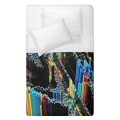 Abstract 3d Blender Colorful Duvet Cover (single Size)