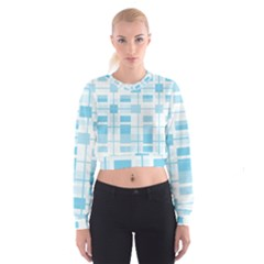 Pattern Women s Cropped Sweatshirt