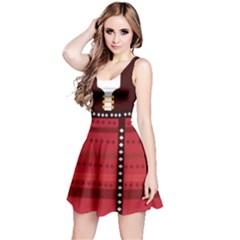 2D Cosplay Reversible Sleeveless Dress