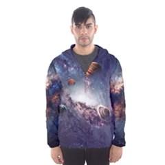 Galaxy Hooded Wind Breaker (men)