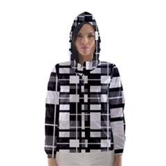 Pattern Hooded Wind Breaker (women)