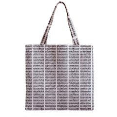 Methods Compositions Detection Of Microorganisms Cells Zipper Grocery Tote Bag
