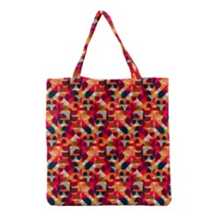 Modern Graphic Grocery Tote Bag