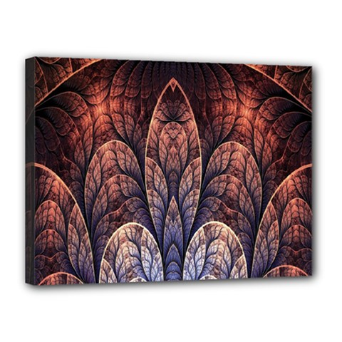 Abstract Fractal Canvas 16  X 12