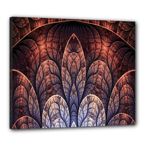Abstract Fractal Canvas 24  X 20