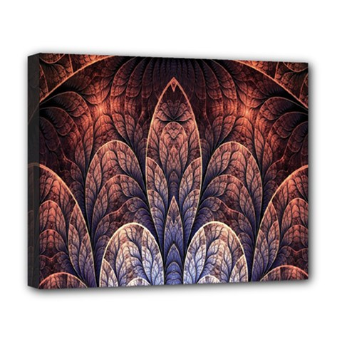 Abstract Fractal Deluxe Canvas 20  x 16