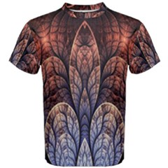 Abstract Fractal Men s Cotton Tee