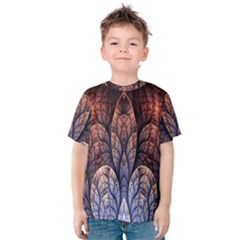 Abstract Fractal Kids  Cotton Tee
