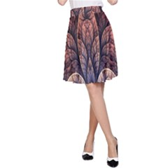 Abstract Fractal A-Line Skirt
