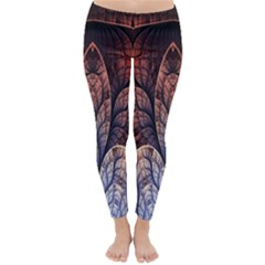 Abstract Fractal Classic Winter Leggings