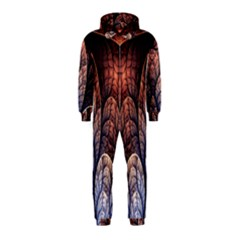 Abstract Fractal Hooded Jumpsuit (Kids)