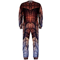 Abstract Fractal OnePiece Jumpsuit (Men)