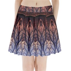 Abstract Fractal Pleated Mini Skirt