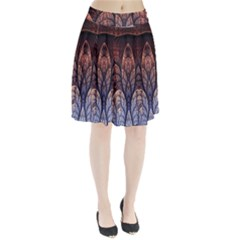 Abstract Fractal Pleated Skirt