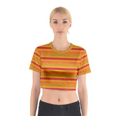 Lines Cotton Crop Top