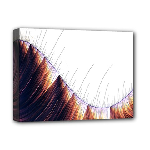 Abstract Lines Deluxe Canvas 16  x 12