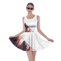 Abstract Lines Skater Dress