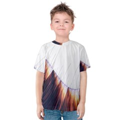 Abstract Lines Kids  Cotton Tee