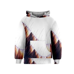 Abstract Lines Kids  Pullover Hoodie