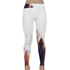 Abstract Lines Classic Yoga Leggings
