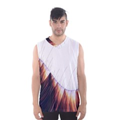 Abstract Lines Men s Basketball Tank Top