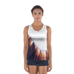 Abstract Lines Women s Sport Tank Top