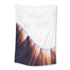 Abstract Lines Small Tapestry